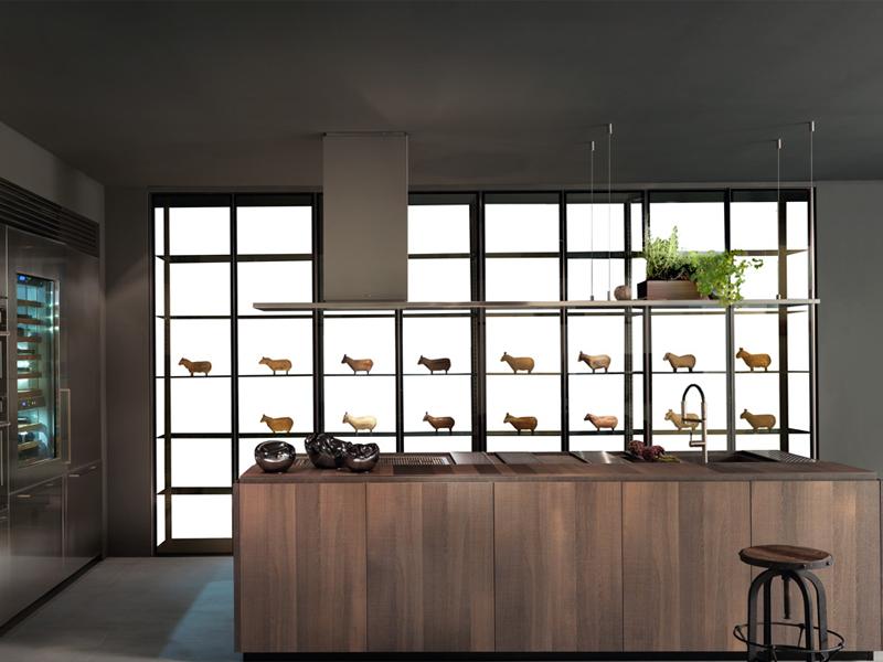 Modern kitchen binova scava scava2 italian kitchen for Contemporary kitchen cabinets los angeles