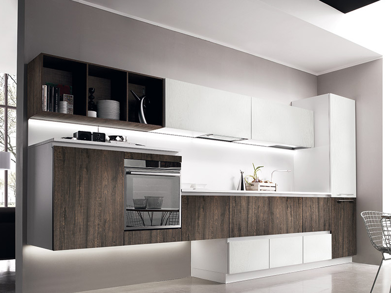 Los Angeles kitchen cabinets - MITON high quality Italian kitchen by MEF