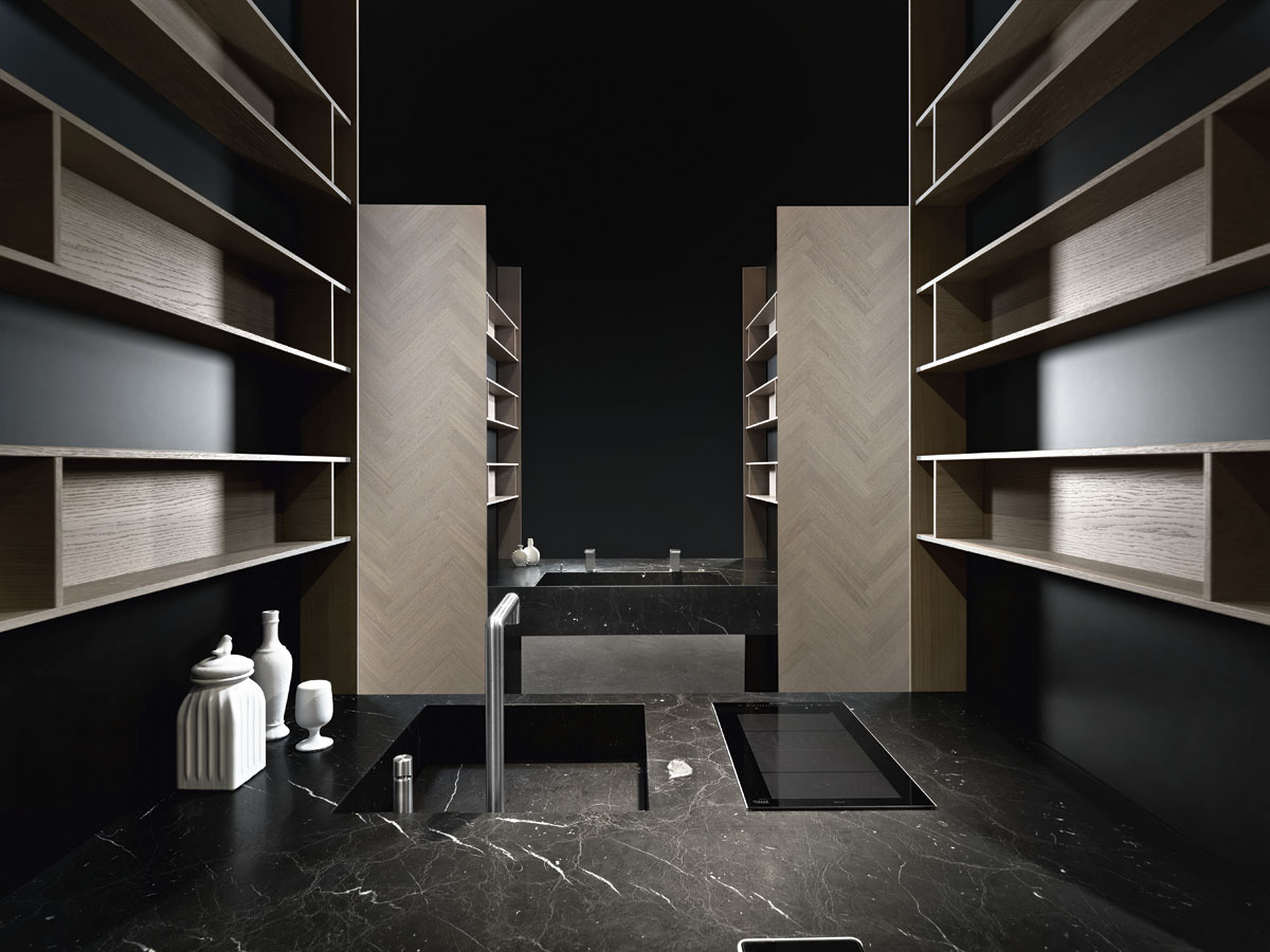 Kitchen cabinets Hidden Hills - Binova MANTIS (Italy)