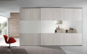 Wardrobe sliding doors
