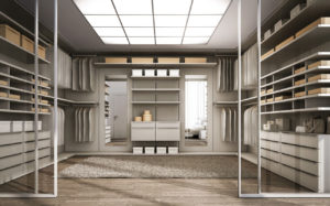 WALK IN CLOSET SLIDING DOORS FRAME