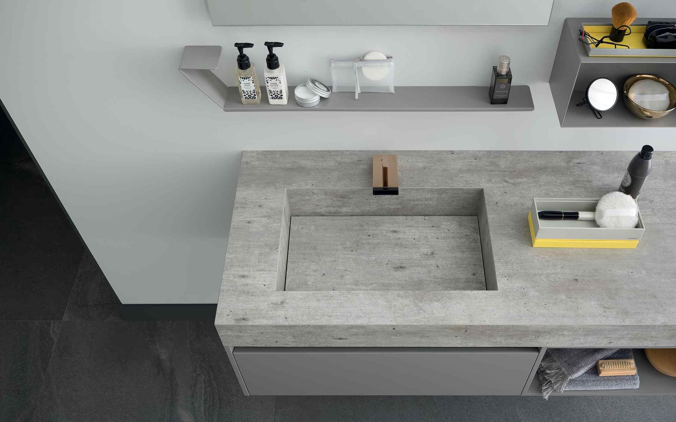 89cm wall mounted vanity unit